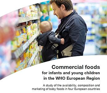 WHO: Te veel suiker in babyvoeding & peutervoeding en veel incorrecte etiketten